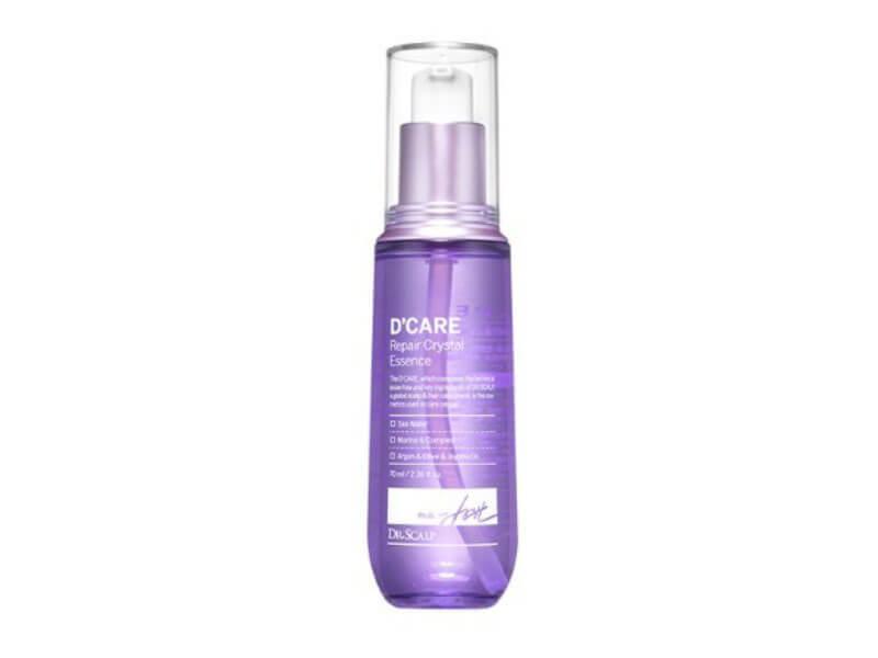 Восстанавливающая эссенция для поврежденных волос Dr. Scalp D'Care Repair Cristal Essence, 70 мл